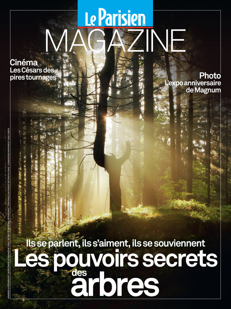 "Cover / lead story photos ""Le Parisien Magazine"""