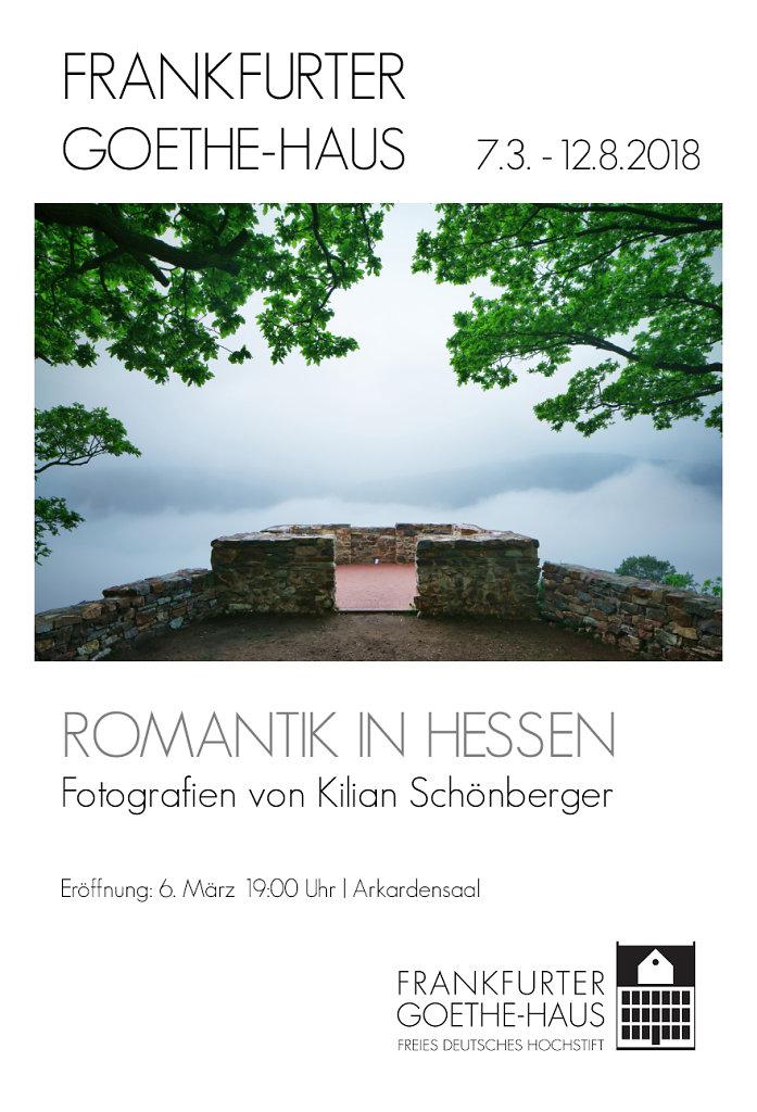 Kilian Schönberger Hessen Romantik Goethe Haus Frankfurt